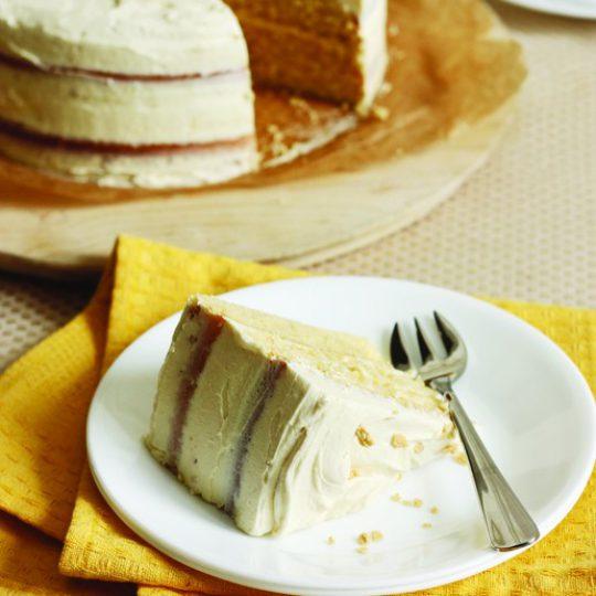 Vanilla Maple Butter Cake